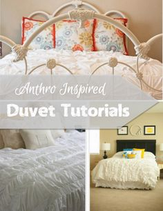Anthro Inspired Duvet Tutorials