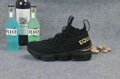 e5c5313f251 Where To Buy Nike LeBron 15 EQUALITY PE Black Metallic Gold Lebron James 15