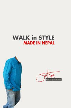 #nepali_tshirt #Nepali_Khadi #made_in_Nepal  Be proud in wearing Made in Nepal   like us on our facebook page https://www.facebook.com/Sattvathestylebook