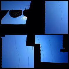 #blue #sky #céu #azul - políptico