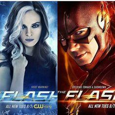 FLASHFROST posters #TheFlash #KillerFrost