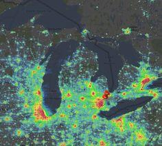 https://www.lightpollutionmap.info/#zoom=5&lat=5266398&lon=-9253547&layers=B0TFFFF