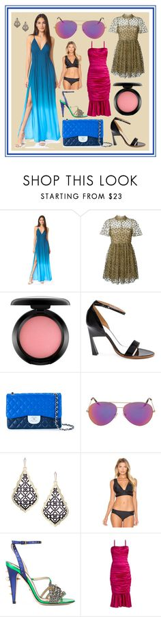 """""""Welcome To Latest Offers"""" by cate-jennifer ❤ liked on Polyvore featuring Young, Fabulous & Broke, Valentino, MAC Cosmetics, Maison Margiela, Chanel, Victoria Beckham, Kendra Scott, My Own Summer, Gucci and Dolce&Gabbana"""