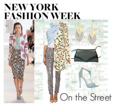 """NYFW On The Street"" by bagmerchant on Polyvore featuring Altuzarra, Vivienne Westwood, Alice + Olivia and Jimmy Choo"