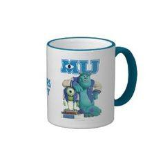 Mike and Sulley MU Monsters University Mug