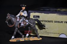 BRITAINS 17403 CONFEDERATE CAVALRY PRIVATE MOUNTED METAL TOY SOLDIER FIGURE NO.3