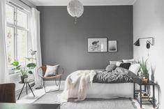 White Grey Bedroom Makeover Design Ideas