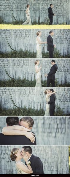 This first look is so sweet!!