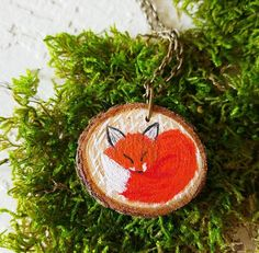Hey, I found this really awesome Etsy listing at https://www.etsy.com/listing/220926495/fox-necklace-wooden-jewelry-wood-slices