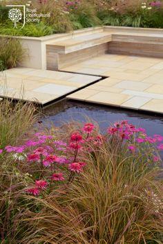 Alzheimer's Society 'Remember to Reflect' Garden.