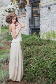 Bohemian Bride Looks http://www.realweddings.ca