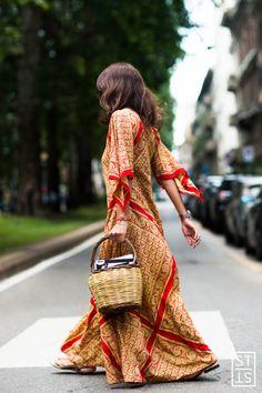 the-style-stalker: Milano Moda Uomo SS17 Street Fashion by...