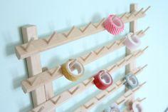 From Thread Rack To Washi Tape Organizer | Dream Green DIY