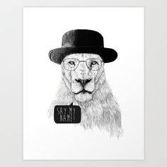 Say my name Art Print by Balazs Solti . Looking at this picture makes me happy