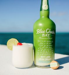 When life hands you limes, you make a Key Lime Colada. Blend all ingredients together. Pour into a cup rimmed with coconut flakes. Garnish with a lime wheel and a cherry. Easy Cocktails, Cocktail Drinks, Cocktail Recipes, Party Drinks, Fun Drinks, Alcoholic Drinks, Summertime Drinks, Summer Drinks, Key Lime Rum Cream