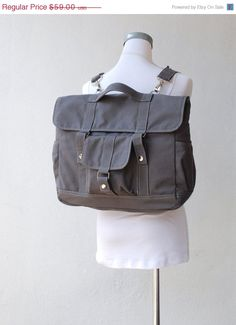 CHRISTMAS SALE 25%  Pico2 Backpack in Dark Grey Water by nottoc