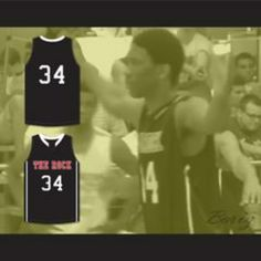 ab94c90360d9 Joel Embiid 34 The Rock High School Black Basketball Jersey