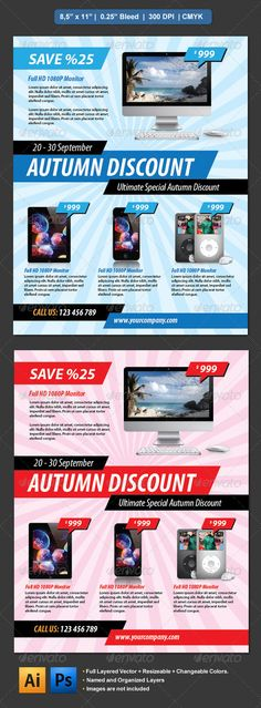 Arrow Flyer — Photoshop PSD #corporate #promotion • Available here → https://graphicriver.net/item/arrow-flyer/3038444?ref=pxcr