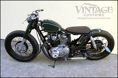 Angeland Thrills: The Bullitt XS650 by Custom Vintage Motorcycles