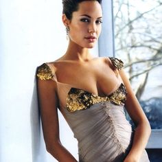 Sequin Detail Dress by Vera Wang