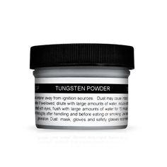 Tungsten Powder by Hireko. $18.65. 1/2 lb. of tungsten powder in plastic jar. 50% more dense than lead powder and much safer to handle.