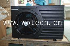 heat pump,plastic shell, black,www.wotech.cn