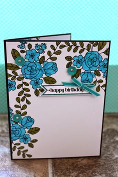 Color Fun Birthday Card by The Stampin B www.TheStampinB.blogspot.com
