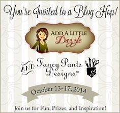 Add a Little Dazzle and Fancy Pants Blog Hop - Day # 1.  Welcome to another exciting week as we team up with another company. This week we are partnering with Fancy Pants Designs and both teams have been busy creating some amazing projects you are going to love. Join us today as we kick off Day 1 of this week-long blog hop.  Get ready to be inspired by some amazing projects paired with Fancy Pants Designs beautiful patterned paper and Add a Little Dazzle Craft Metal Sheets.  Let the fun ...
