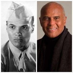 Harry Belafonte-Navy-WW2 (Singer/Actor)