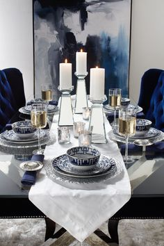 Sapphire is a rich color that plays well with a modern aesthetic. Use it as a standalone hue in your space to keep your style elevated and sophisticated.