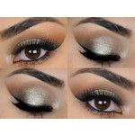 New Get This Look   Trio Natural Vegan Eyeshadow and Eyeliner Makeup Includes Cosmetic G