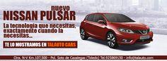 Descubre en Talauto Cars el nuevo Nissan Pulsar. ¡La tecnología que necesitas, exactamente cuando la necesitas! #talauto #grupotalauto http://www.grupotalauto.com