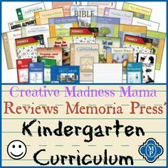 2013-2014 was our K4 year and our main curriculum has been the Memoria Press Classical Core Curriculum for Kindergarten.