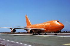 Braniff International Airways, Boeing 747SP by Ron Monroe, via Flickr