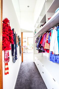 Walk In Wardrobe with so much natural light! ah