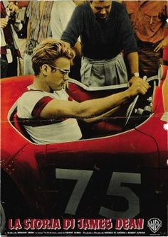 """The James Dean Story"" Italian Photobusta (18.5"" X 26.75"") 1967"