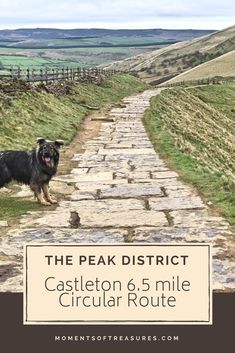 A mile Peak District circular route starting and finishing in Castleton. Tips for a fantastic walking route for a beautiful day out in England! Cool Places To Visit, Places To Travel, Peak District England, Days Out In England, Country Walk, Walking Routes, Lake District, Day Trips, The Great Outdoors