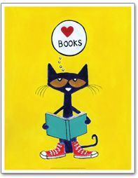 葛根湯・般若湯・金平糖 — bibliophilefiles: Pete the Cat gets it.