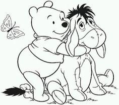 Dibujos De Winnie Pooh Para Pintar Parte 8 Colouring PagesColoring SheetsChristmas