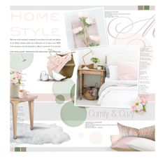 """Comfy & Cozy Bedroom"" by kearalachelle ❤ liked on Polyvore"