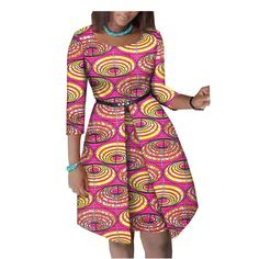 Summer African dress for women - Fashion Moda 2019 Short African Dresses, African Fashion Designers, Latest African Fashion Dresses, African Print Dresses, African Blouses, African Dress Designs, African Women Fashion, Africa Fashion, Womens Fashion