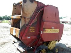 New Holland 650 hay equipment salvaged for used parts. This unit is available at All States Ag Parts in Ft. Atkinson, IA. Call 877-530-3010 parts. Unit ID#: EQ-24599. The photo depicts the equipment in the condition it arrived at our salvage yard. Parts shown may or may not still be available. http://www.TractorPartsASAP.com