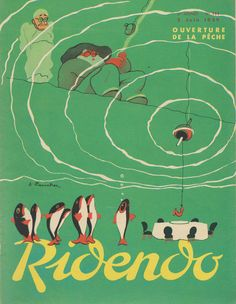 Jacques Touchet for the French magazine Ridendo, c. 1934–40    Ridendo - 50 Watts