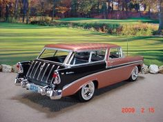 55 56 57 chevy nomads Back in the day we had 5 or 6 of these that my husband, at the time, restored My Dream Car, Dream Cars, Vintage Cars, Antique Cars, Motos Vintage, Station Wagon Cars, Chevy Nomad, Chevrolet Bel Air, Us Cars