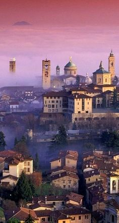 Bergamo, Lombardy, Italy - Double click on the photo to design&sell a…
