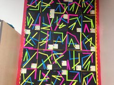 Geometry Angles Bulletin Board