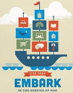 "2015 Mutual Theme: ""Embark in the Service of God"""