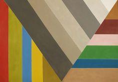 Jack Bush: Grey V March 1967 acrylic on canvas, 193 × 274.9 cm (76 × 108.25 in.) Tedeschi Collection, Montreal © Estate of Jack Bush / SODRAC (2014) Photo: Michael Cullen, TPG Digital Art Services