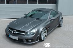 Mercedes-Benz SL65 (R230) by Prior Design - Widebody Facelift Conversion Satin Grey Metallic - #mbhess #mbcars #mbtuning #priordesign
