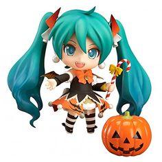 Amazon.com: Vocaloid Hatsune Miku Halloween Nendoroid 2014 Version PVC Figure: Toys & Games